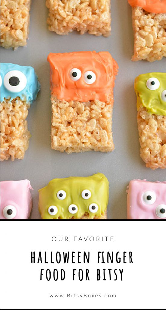 The Cutest Halloween Finger Foods for Bitsy