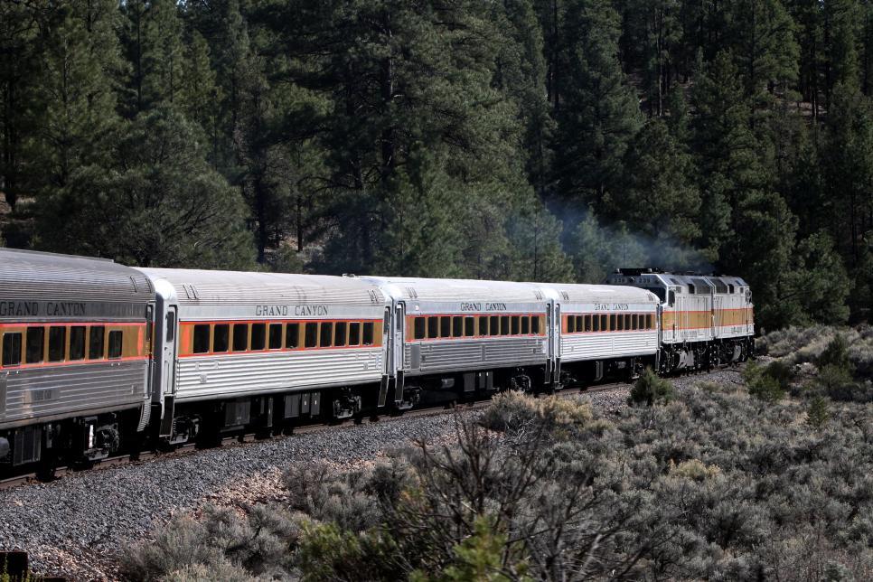 Family Rail Vacation