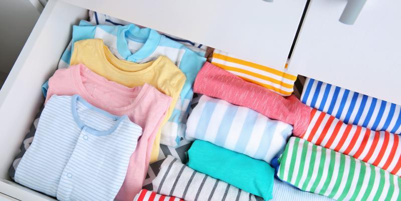Nursery Organization Tips, Marie Kondo-Style