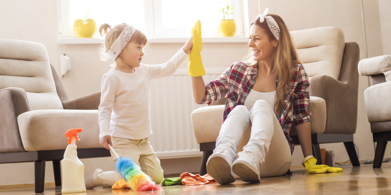 Spring Cleaning Hacks for Busy Parents
