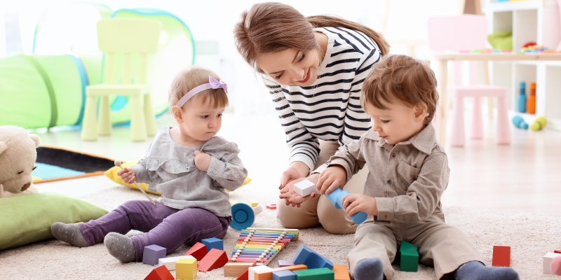 Teaching Toddlers How to Share